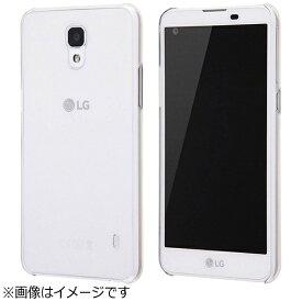 レイアウト rayout LG X screen用 ハードケース 3Hコート クリア RT-LXSC3/CM
