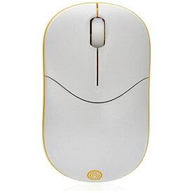 UNIQ ユニーク IM335GYE マウス イエロー [光学式 /3ボタン /USB /無線(ワイヤレス)][IM335GYE]