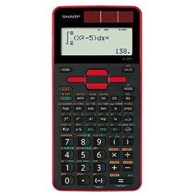 シャープ SHARP スタンダード関数電卓(10桁) 「ピタゴラス」 EL-509T-RX (レッド)[EL509T]