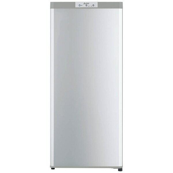 【標準設置費込み】 三菱 1ドア冷凍庫 (121L) MF-U12B-S シルバー