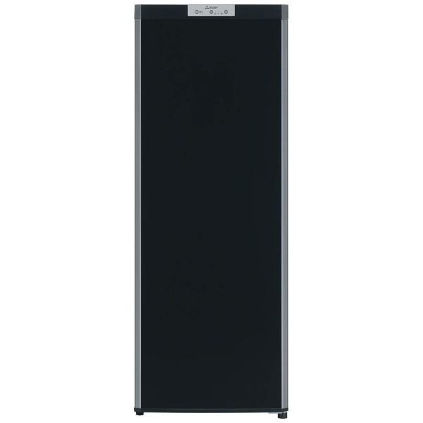 【標準設置費込み】 三菱 Mitsubishi Electric MF-U14B 冷凍庫 Uシリーズ サファイアブラック [1ドア /右開きタイプ /144L][MFU14B_B]