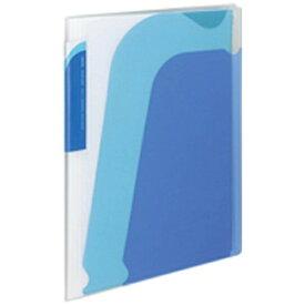 コクヨ KOKUYO [ファイル] ポケットブック ノビータ A4-S チャックポケット付 青/水色 ラ-N205B