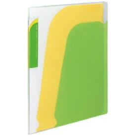 コクヨ KOKUYO [ファイル] ポケットブック ノビータ A4-S チャックポケット付 黄緑/黄 ラ-N205LG