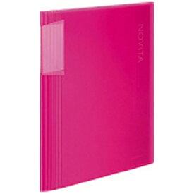 コクヨ KOKUYO [ファイル] クリヤーブック ノビータ (固定A4縦 60枚) ピンク ラ-N60P