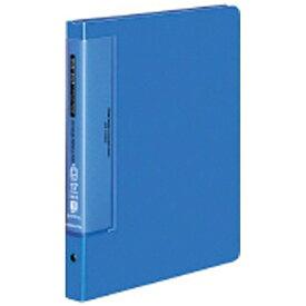 コクヨ KOKUYO [ファイル] クリヤーブック ウェーブカット 替紙式 (B5縦 17枚) 青 ラ-T721B