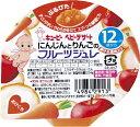 キューピー kewpie 【キューピー】ベビーデザート にんじんとりんごのフルーツジュレ 70g 12ヶ月頃から