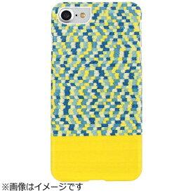 ROA ロア iPhone 7用 天然木ケース Yellow Submarine ホワイトフレーム Man&Wood I8078i7