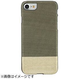 ROA ロア iPhone 7用 天然木ケース Einstein ブラックフレーム Man&Wood I8077i7