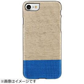 ROA ロア iPhone 7用 天然木ケース Dove ブラックフレーム Man&Wood I8076i7