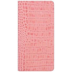 ROA ロア iPhone 7用 手帳型 Vivid Croco Diary ピンク GAZE GZ8003i7