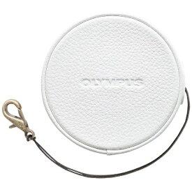 オリンパス OLYMPUS 本革レンズジャケット(ホワイト) LC-60.5GL WHT[LC605GLWHT]