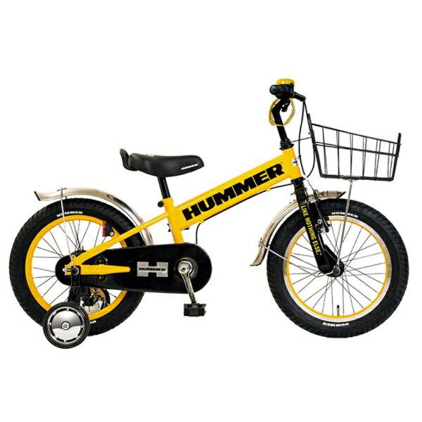 【送料無料】 ハマー 16型 幼児用自転車 HUMMER KIDS TANK3.0-SE(イエロー/シングルシフト) 13377-07【組立商品につき返品不可】 【代金引換配送不可】