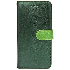 ROA ロア iPhone 7用 手帳型 CALF Diary フォレストグリーン HANSMARE HAN8266i7
