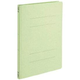コクヨ KOKUYO [ファイル] フラットファイルV 樹脂製とじ具 A4縦 15mmとじ 緑 フ-V10G