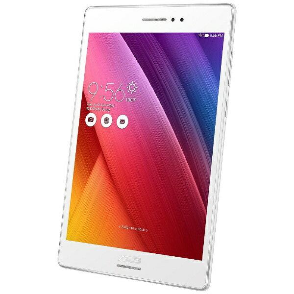 【送料無料】 ASUS Androidタブレット [7.9型ワイド・Atom・ストレージ32GB・メモリ4GB・Wi-Fiモデル] ASUS ZenPad S 8.0 ホワイト Z580CA-WH32S4 (2016年モデル)[Z580CAWH32S4]