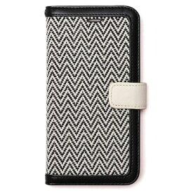 ROA ロア iPhone 7用 手帳型 Herringbone Diary ブラック Zenus Z44587i7