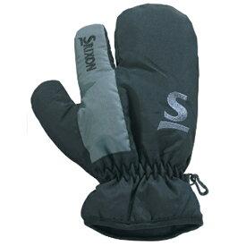 ダンロップ スリクソン DUNLOP SRIXON メンズ ゴルフミトン 片手用(ブラック)SMG5727