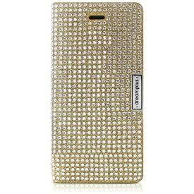 ROA ロア iPhone 7用 手帳型レザーケース Persian Leather Diary ゴールド dreamplus DP61758i7