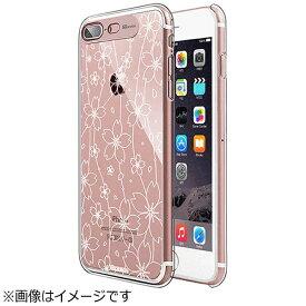 ROA ロア iPhone 7 Plus用 Clear Hard イルミネーションケース フラワーローズゴールド SG SG8787i7P