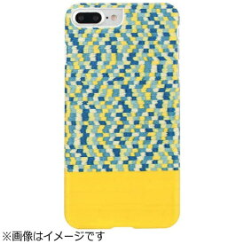 ROA ロア iPhone 7 Plus用 天然木ケース Yellow Submarine ホワイトフレーム Man&Wood I8086i7P