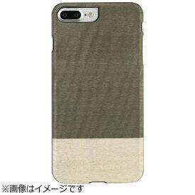 ROA ロア iPhone 7 Plus用 天然木ケース Einstein  ブラックフレーム Man&Wood I8085i7P