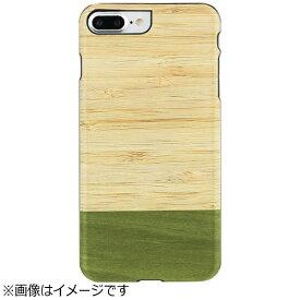 ROA ロア iPhone 7 Plus用 天然木ケース Bamboo Forest  ブラックフレーム Man&Wood I8083i7P