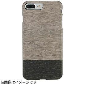 ROA ロア iPhone 7 Plus用 天然木ケース Lattis  ブラックフレーム Man&Wood I8082i7P
