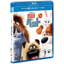NBCユニバーサル NBC Universal Entertainment ペット 3D+ブルーレイ+DVDセット(3枚組) 【ブルーレイ ソフト】