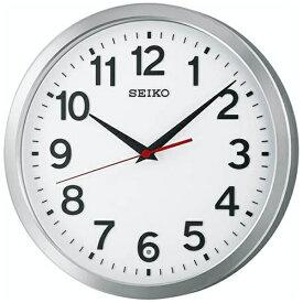 セイコー SEIKO 掛け時計 【スタンダード】 アルミ光沢 KX227S [電波自動受信機能有]