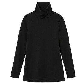 ミズノ mizuno レディース ブレスサーモエブリプラス ハイネック長袖シャツ(Lサイズ/ブラック) C2JA684209