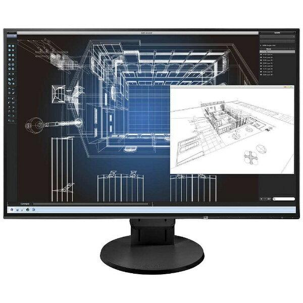 【送料無料】 EIZO 24.1型LEDバックライト搭載液晶モニター (ブラック) FlexScan EV2456-RBK