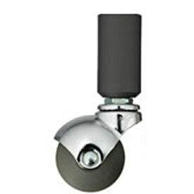 QUADRASPIRE クアドラスパイア 重量キャスター脚 [1個 /32mm径] SQCST50-32 ブラック[SQCST5032] 【メーカー直送・代金引換不可・時間指定・返品不可】