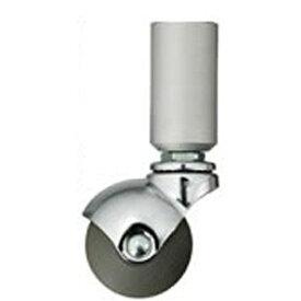 QUADRASPIRE クアドラスパイア 重量キャスター脚 [1個 /32mm径] SQCST50-32MS マットシルバー[SQCST5032MS] 【メーカー直送・代金引換不可・時間指定・返品不可】