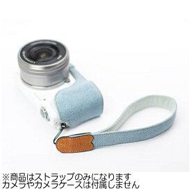 mi81 エムアイ81 ミラーレス&コンパクトカメラ用リストストラップ MH01SB ライトデニム