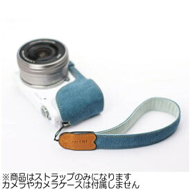 mi81 エムアイ81 ミラーレス&コンパクトカメラ用リストストラップ MH01DB デニム