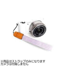 mi81 エムアイ81 ミラーレス&コンパクトカメラ用リストストラップ MH003SP ピンクストライプ