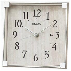 セイコー SEIKO 置き時計 【スタンダード】 薄グレー BZ237A [電波自動受信機能有]
