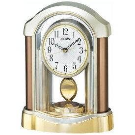 セイコー SEIKO 置き時計 【スタンダード】 薄金色パール BZ238B [電波自動受信機能有]