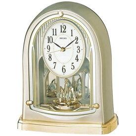セイコー SEIKO 置き時計 【スタンダード】 薄金色パール BY241G [電波自動受信機能有]