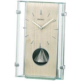 セイコー SEIKO 置き時計 【スタンダード】 薄緑 BY240M [電波自動受信機能有]