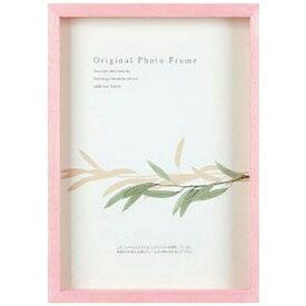 A.P.J. ART PRINT JAPAN アートプリントジャパン アートボックスフレーム(高さ:35mm) ハガキ (パステルピンク)
