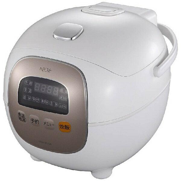 NEOVE ネオーブ NRM-M35A 炊飯器 aiwa NEOVE ホワイト [3.5合 /マイコン][NRMM35A]