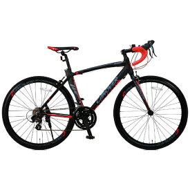 オオトモ OTOMO 700×23C型 ロードバイク CANOVER ADONIS(ブラック/465サイズ《適応身長:165cm以上》) CAR-012【組立商品につき返品不可】 【代金引換配送不可】