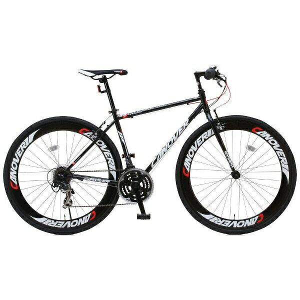 オオトモ 【組立商品返品不可】700×28C型 クロスバイク CANOVER NYMPH(ブラック/450サイズ《適応身長:155cm以上》) CAC-025※在庫有でもお届けにお時間がかかります 【代金引換配送不可】