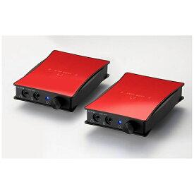 ORB オーブ ポータブルヘッドホンアンプ 2セット JADE next Ultimate bi power Custom IEM 2pin-Balanced (Red) JNUBIPCI2PINB 【受発注・受注生産商品】[JNUBIPCI2PINBR]