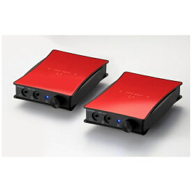 ORB オーブ ポータブルヘッドホンアンプ 2セット JADE next Ultimate bi power HD650-Unbalanced (Red) JNUBIPHD650UB 【受発注・受注生産商品】[JNUBIPHD650UBR]
