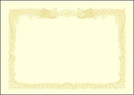 ササガワ SASAGAWA 厚口OA賞状用紙 A3判縦書用100 クリーム 10-1387