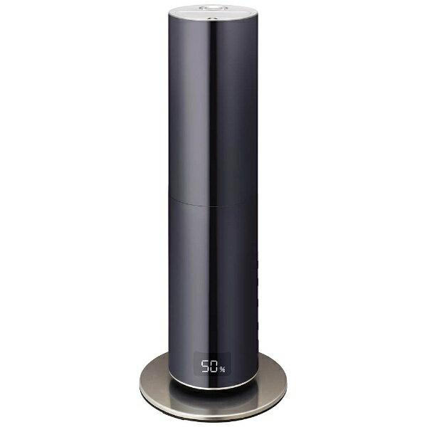 【送料無料】 ドウシシャ DOSHISHA クレベリンLED搭載タワー型ハイブリッド式加湿器 「mood」(〜19畳) DHBK-216CL-BK ブラック[k-ksale]