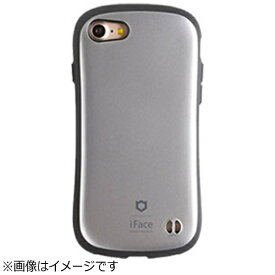 HAMEE ハミィ iPhone 7用 iFace First Class Metallicケース シルバー