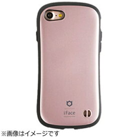 HAMEE ハミィ iPhone 7用 iFace First Class Metallicケース ローズゴールド